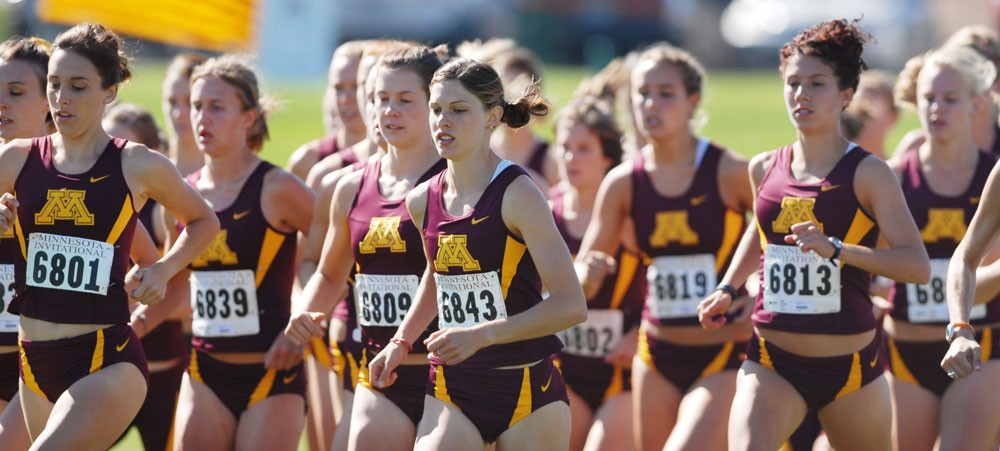 The Minnesota women's cross country team will compete this weekend in the Oz Memorial run in Falcon Heights, Minn. Last year, the Gophers recorded a perfect score of 15 at the event.