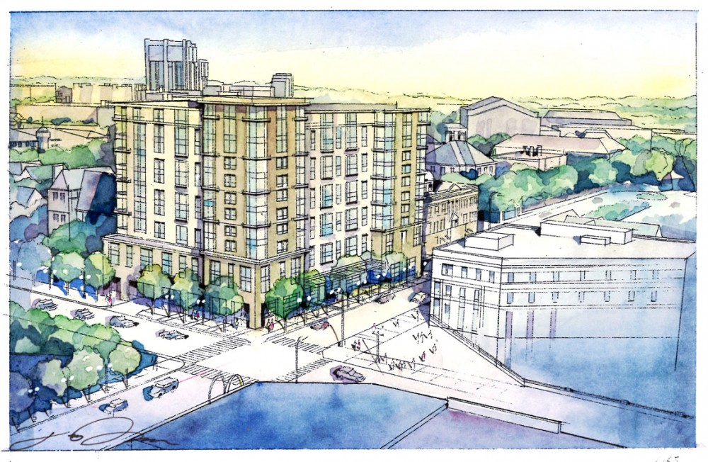 Apartment complex to tower over Dinkytown businesses
