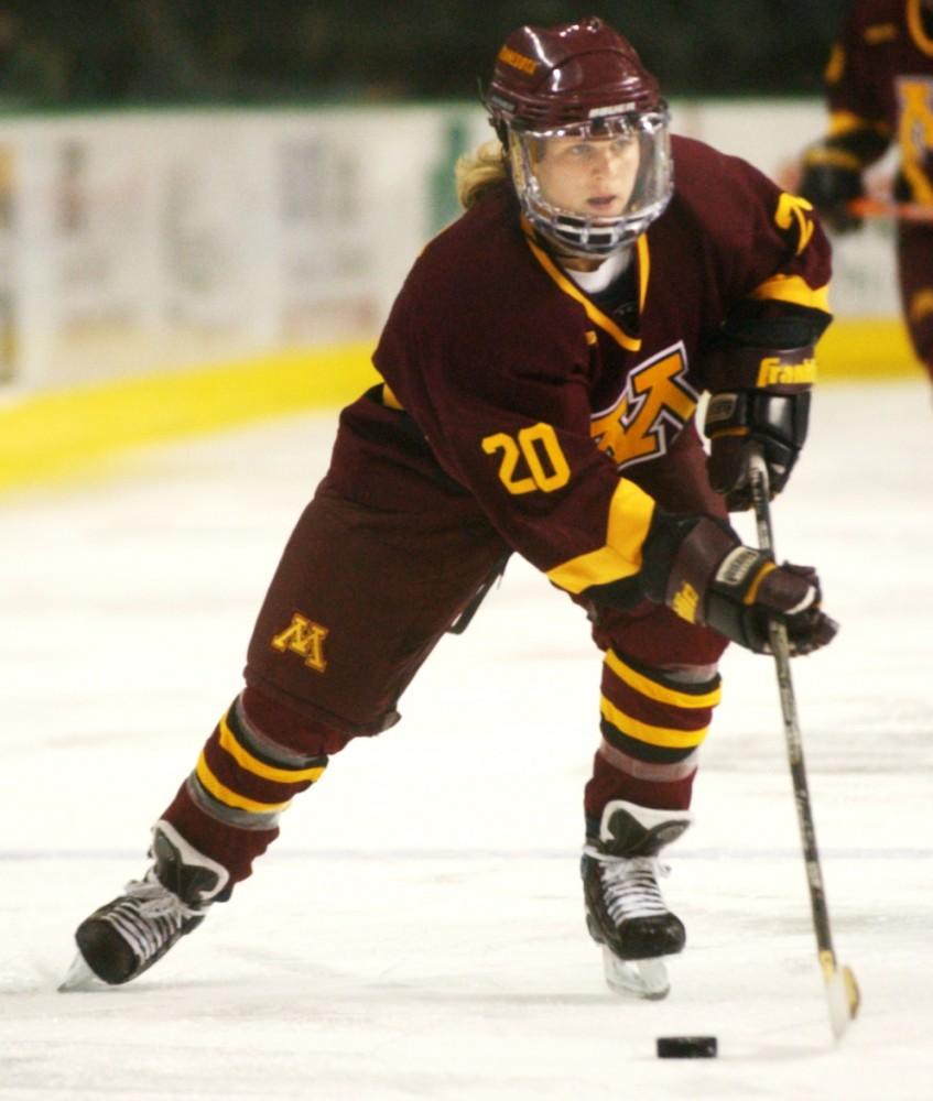 womens hockey against und at und