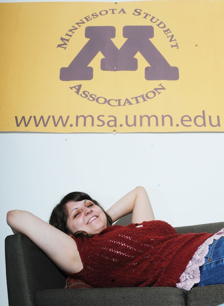 University political science junior Shana Conklin is the diversity education fund chairwoman for MSA.