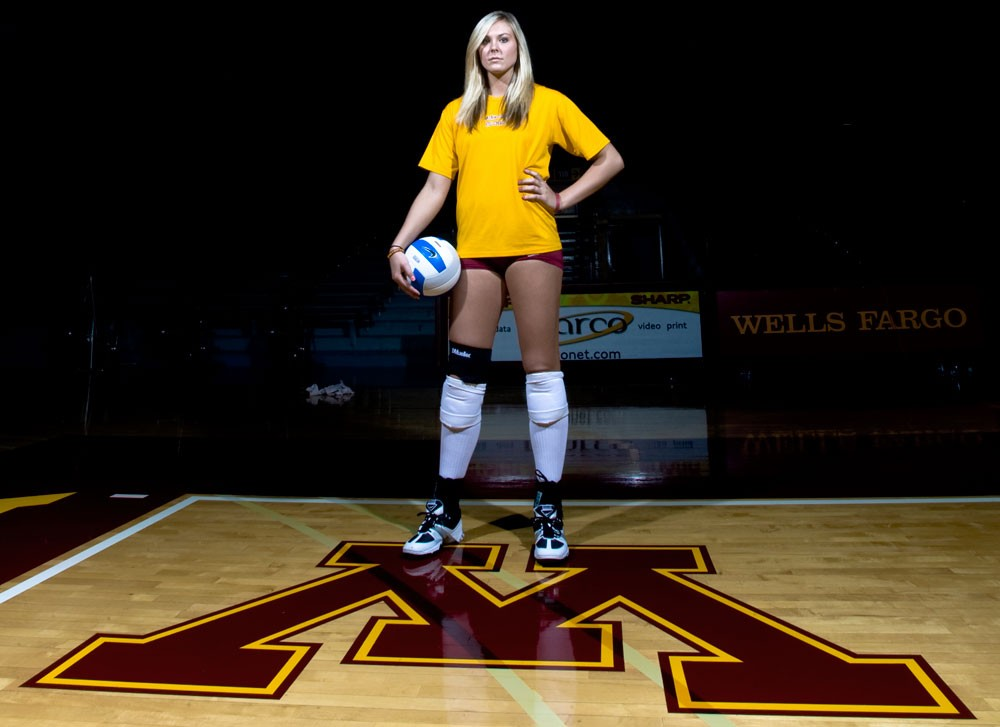 Sophomore Lauren Gibbemeyer said she felt a little out of form last season as she struggled to assume a leadership position she had come to be comfortable with. But a year later and sitting at 8-1 with the Minnesota volleyball team, Gibbemeyer said she is feeling much more comfortable assuming a leadership role and taking a red hot Gophers teams by the horns.