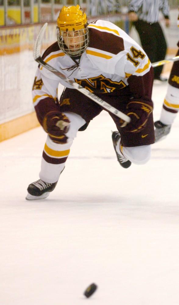 mens gopher hockey versus ohio buckeyes
