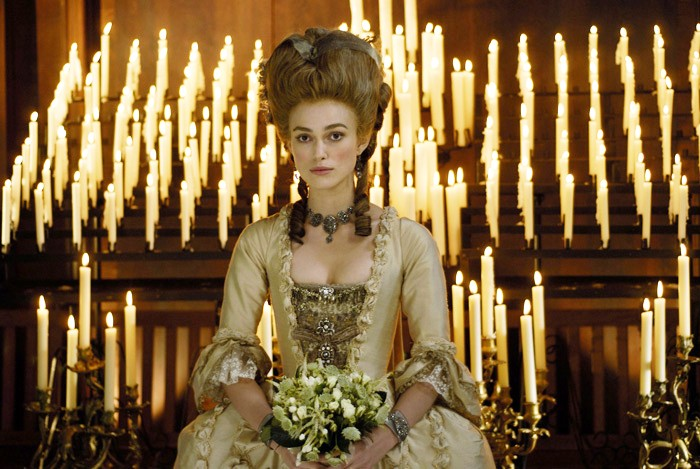 Keira Knightley as Georgiana, The Duchess of Devonshire.Photo by Nick Wall
