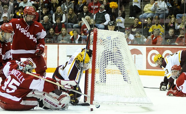Badgers sweep Minnesota, send Gophers to fourth straight loss