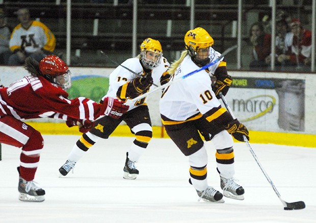 Minnesota captures three crucial points and first place spot in the conference