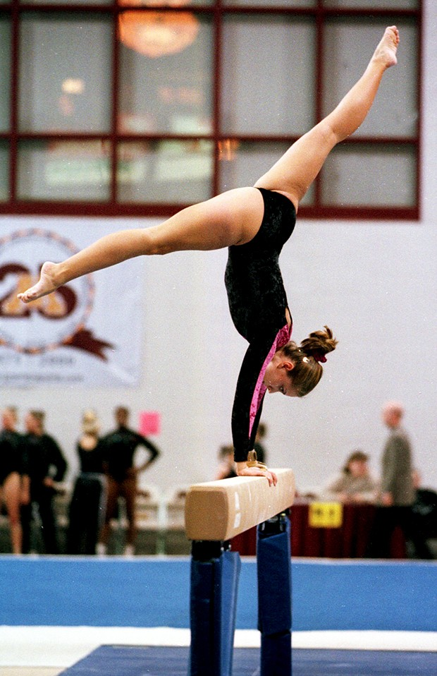 Once a performer for Minnesota gymnastics, Hansen now a teacher
