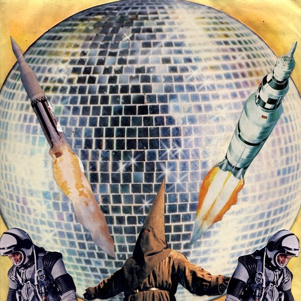 The moon is made of discoball. PHOTO COURTESY ANTI-RECORDS.