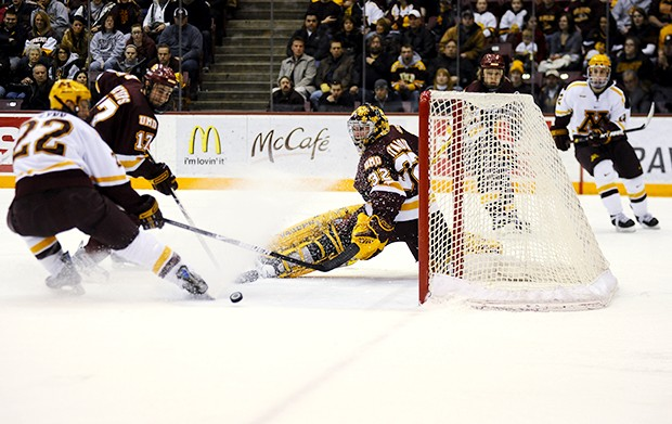 Gophers clinch home-ice with 2-0 win at Michigan Tech