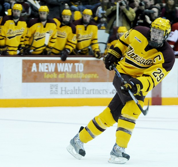 A year after missing nearly his entire junior season, Ryan Stoa returned to the ice to lead Minnesota and the WCHA in points.