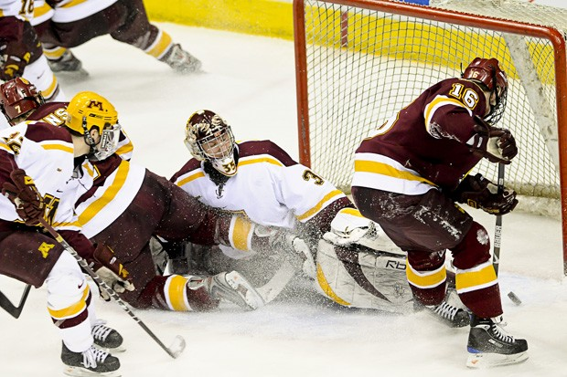Gophers knocked out of Final Five with 2-1 loss