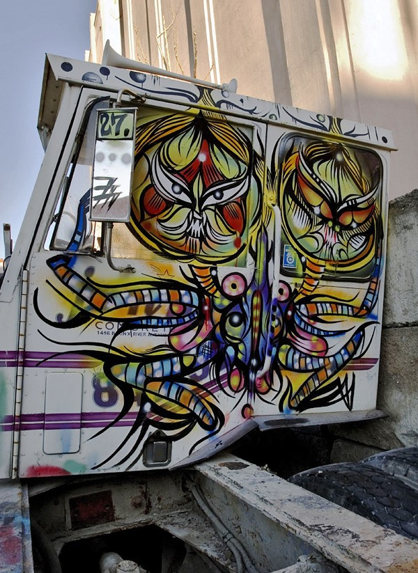 Deuce Seven's street art. Catch his exhibit at the Soo Visual Arts CenterSource