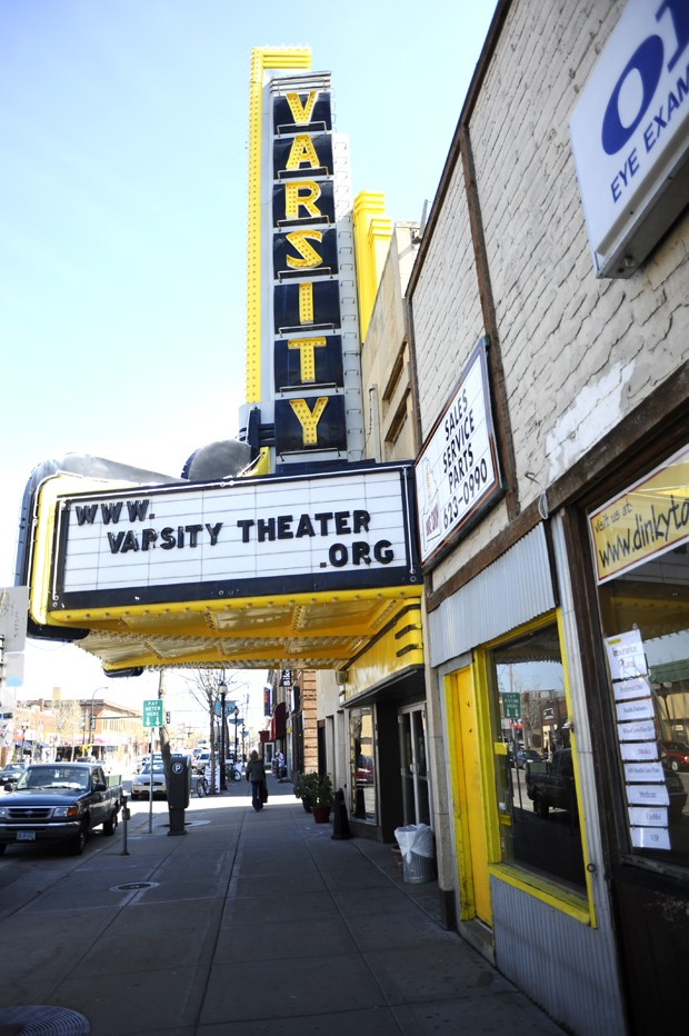 The Varsity was built in 1915 and was one of the last vaudeville houses in Minneapolis.