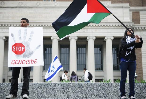 Palestine, Israeli protest