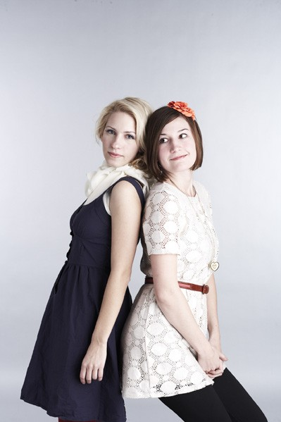 The designers from Calpurnia Peach met in the University's college of design. PHOTO COURTESY VOLTAGE FASHION AMPLIFIED.