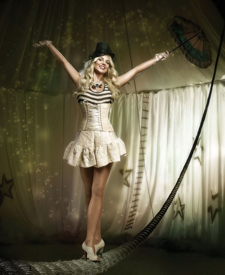 Source Britney Spears performs this weekend, knocking off her first decade of fame.