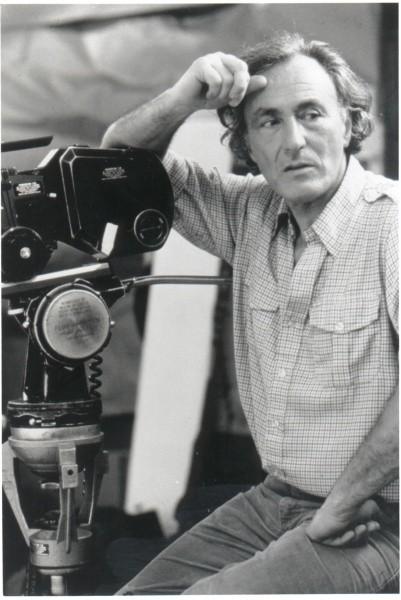 Klein searching for his muse. PHOTO COURTESY WILLIAM KLEIN