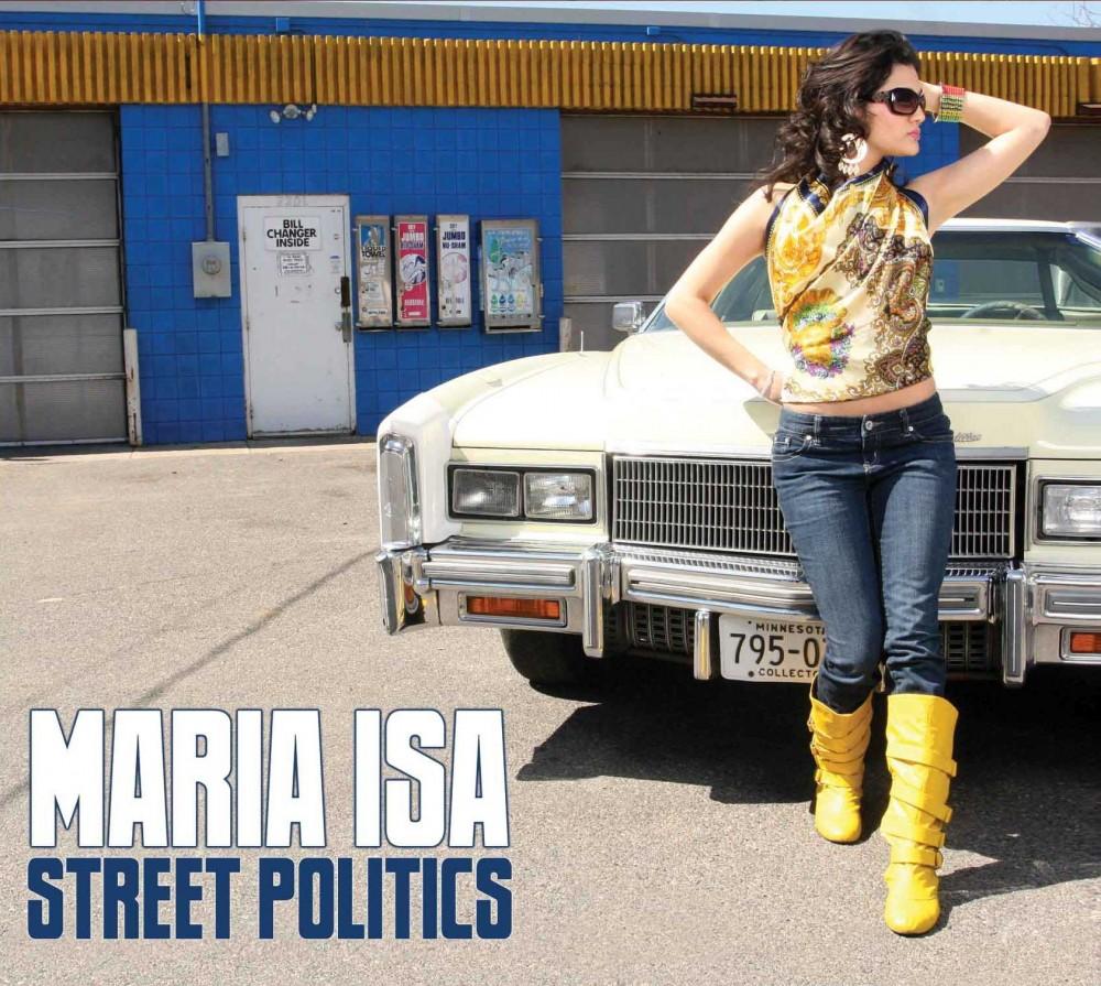Maria Isa – singer or aspiring auto show model?  PHOTO COURTESY SOTARICO