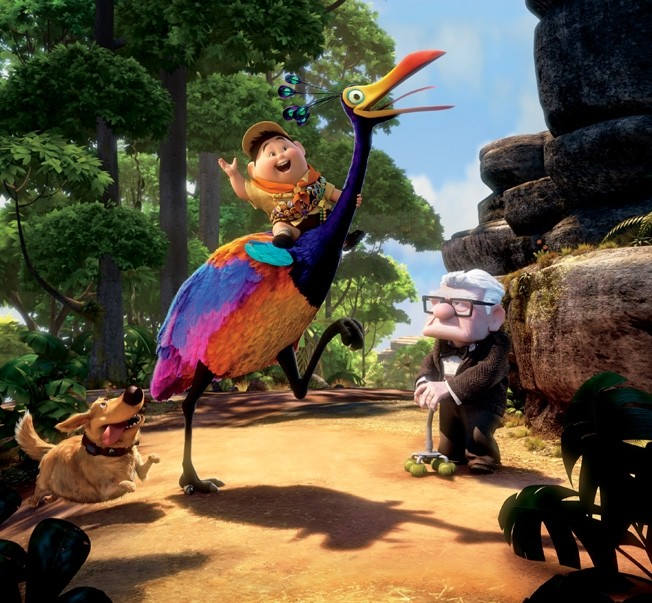 If this doesn't look like super amazing fun, we don't know what is! PHOTO COURTESY PIXAR
