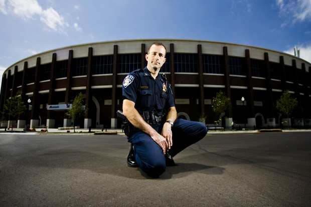 University police Deputy Chief Chuck Miner has at least two meetings per day to discuss stadium security issues. In preparation, Miner has visited other Big 10 schools such as Madison, Ohio State and Michigan State.