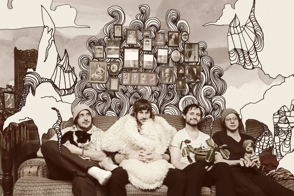 Portugal. The Man are from Alaska. Maybe that's why their Snuggie is so advanced. PHOTO COURTESY EQUAL VISION RECORDS