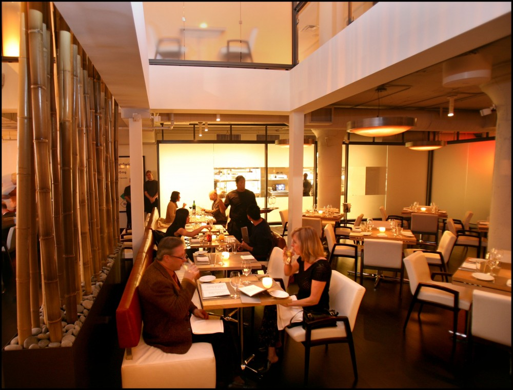 The current dining area of Chambers Kitchen