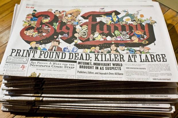 'Big Funny' puts the comic in the spotlight