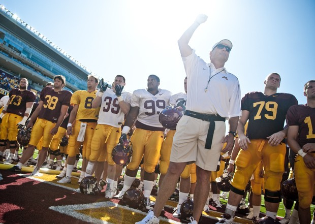 Gophers make debut in new stadium