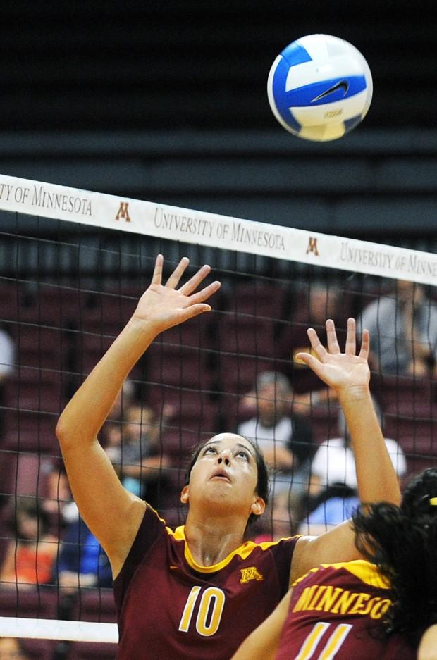 Carico sets her mark on Minnesota