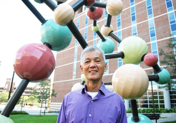 """University of Minnesota professor Lawrence Que is researching an iron-containing enzyme called """"nonheme iron""""."""