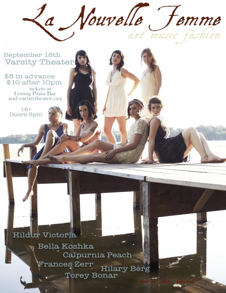 The luminous ladies of La Nouvelle Femme PHOTO COURTESY LA NOUVELLE FEMME