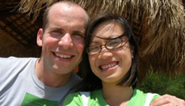 Dan Hanson and Hoa Nguyen