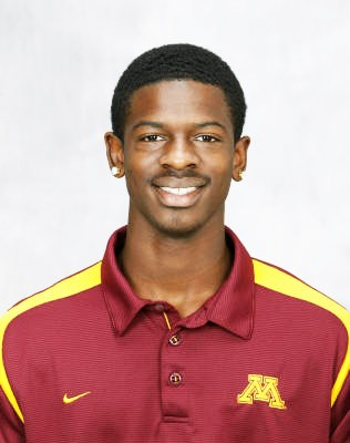 Minnesota football player arrested
