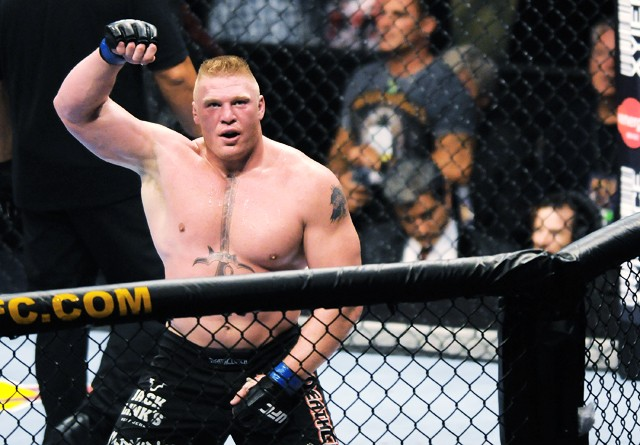 Lesnar's UFC career in jeopardy