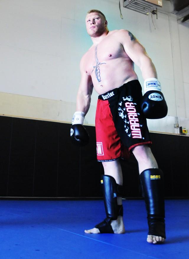 Brock Lesnar Training Day
