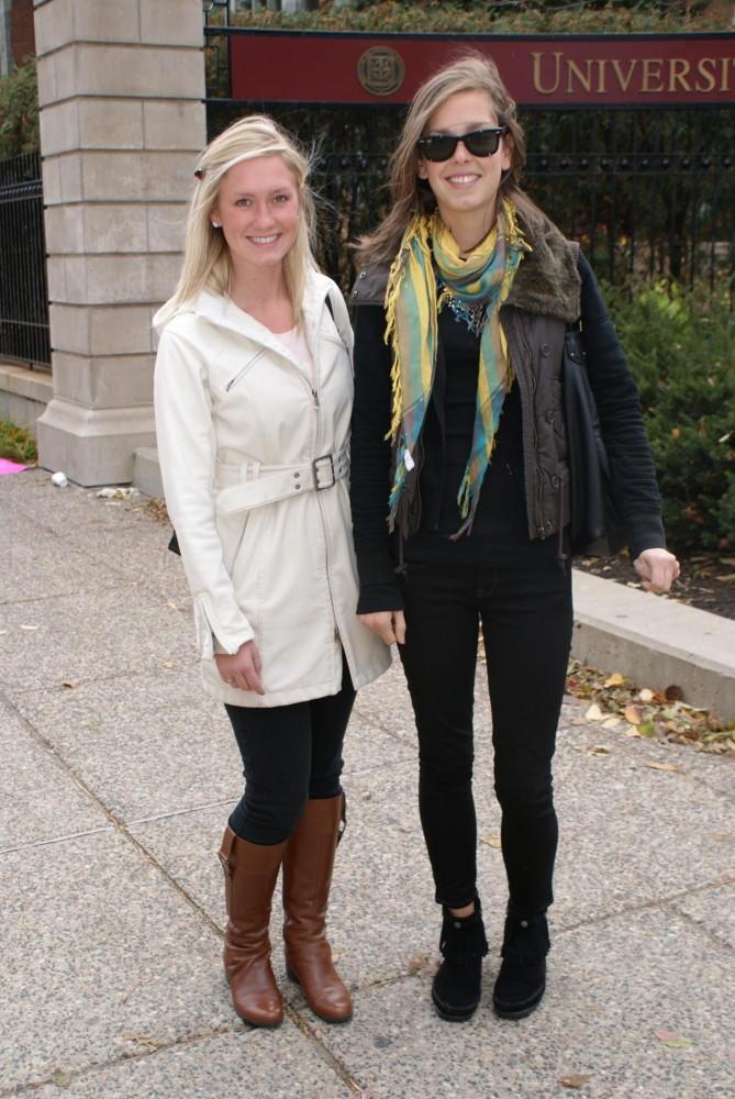 Alexandra Baldwin and Adrian Pansch.