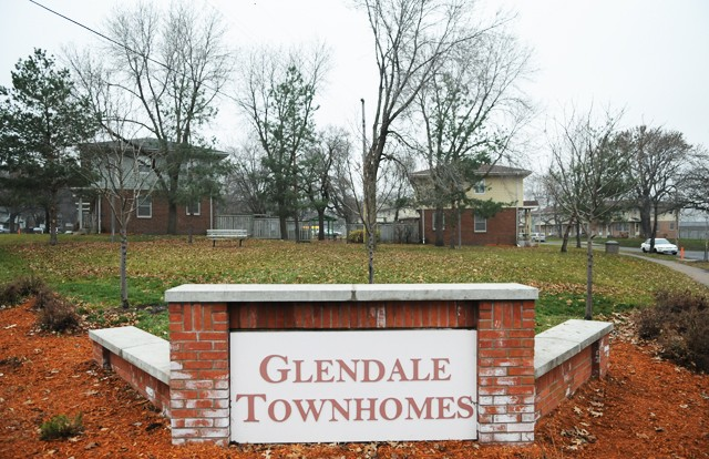 The Glendale Townhome complex is a 184-unit public housing project owned by the Minneapolis Public Housing Authority and is the only public row-house development left in the U.S.