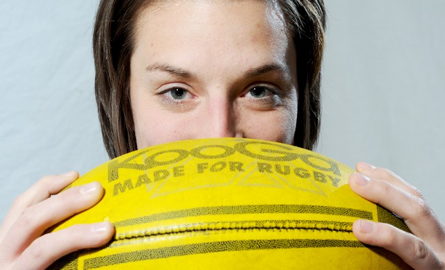 Christy Ringgenberg is currently trying out to be a member of Team USA's 15-woman rugby World Cup team.