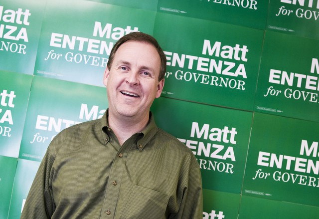 Matt Entenza is running for governor in hopes that he can restore Minnesota's education system to its former brilliance.