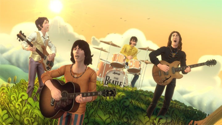Show your Beatles savvy at Brit's Pub's Beatles Rock Band contest. PHOTO COURTESY MTV GAMES