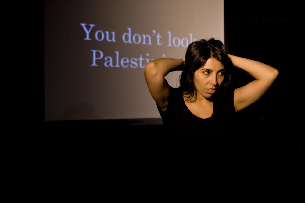 After premiering to wide praise at New York's International Fringe Festival, Jajeh's performance deals with misconceptions of global identity.