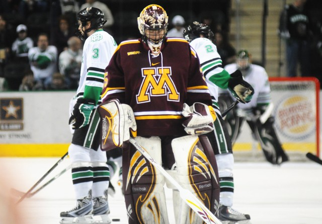 Gophers end season with WCHA first-round loss to Sioux