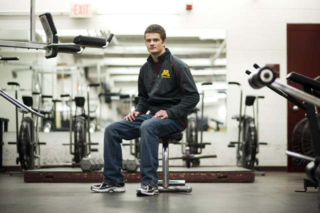 Gopher senior Jayson Ness finished this season with a perfect 32-0 record and as the NCAA Division 1 Champion.