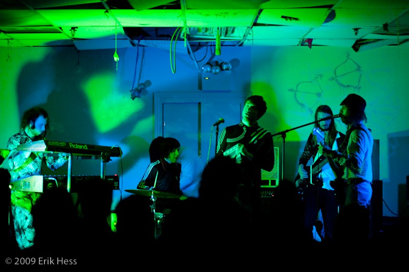 Big shadows on the walls and entranced faces are standard fare at a Moonstone Continuum show. PHOTO COURTESY ERIK HESS