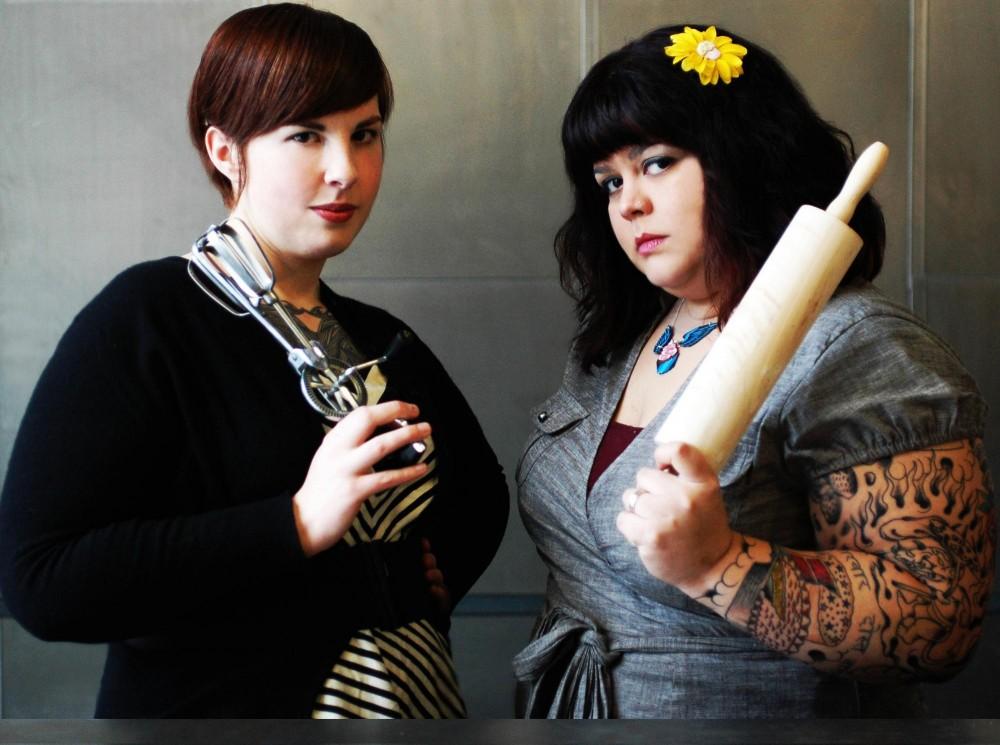 Cake Eater creators Emily Harris and Sheela Namakkal PHOTO COURTESY KATE IVERSON