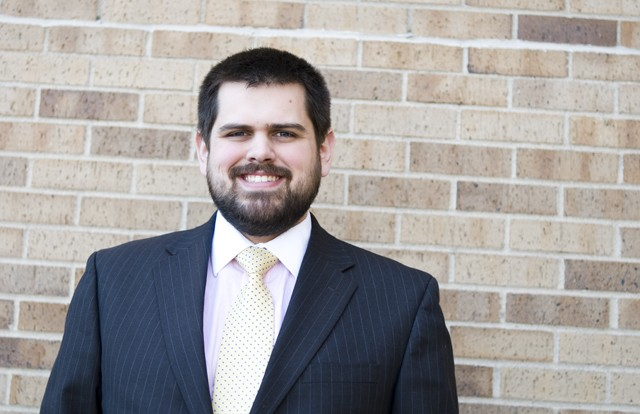 GAPSA presidential candidate Devin Driscoll is in his first year at the University after receiving an undergraduate degree from Providence College in Providence, R.I.