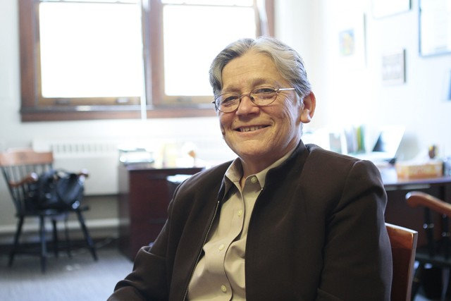 Vice President and Vice Provost for Equity and Diversity Nancy 'Rusty' Barcelo at her office Thursday in Morrill Hall.