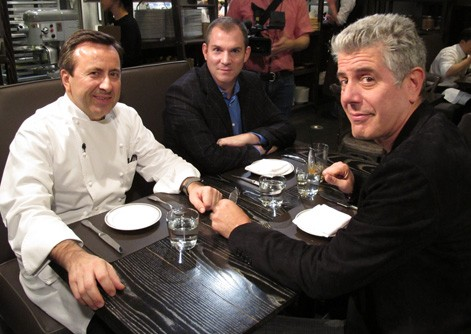 Travel foodie extraordinaire Anthony Bourdain is in town, to smoke and drink and shed his wisdom. PHOTO COURTESY THE TRAVEL CHANNEL