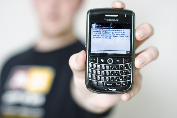 The University of Minnesota is hoping to make TXT-U a requirement for all students sometime this Spring. TXT-U is a emergency notification text messaging system that alerts students of emergencies on campus.
