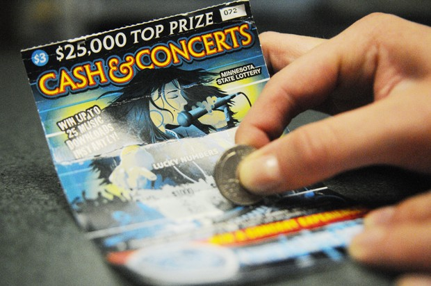 "The three dollar ""Cash & Concerts"" scratch cards offer free music downloads, concert tickets, Ipods and cash prizes."