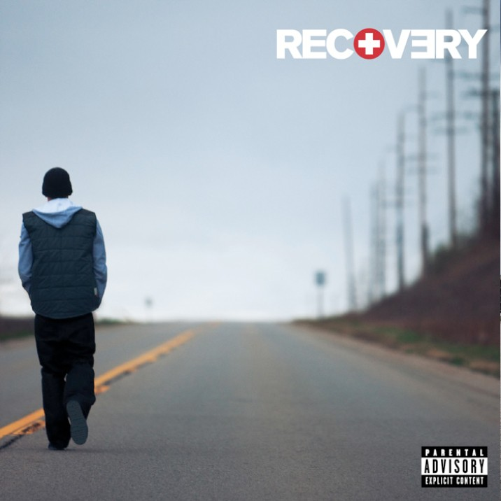 Eminem walks down the long road of
